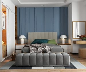 Modern bedroom interior, for modern style bedroom design, interior designer,