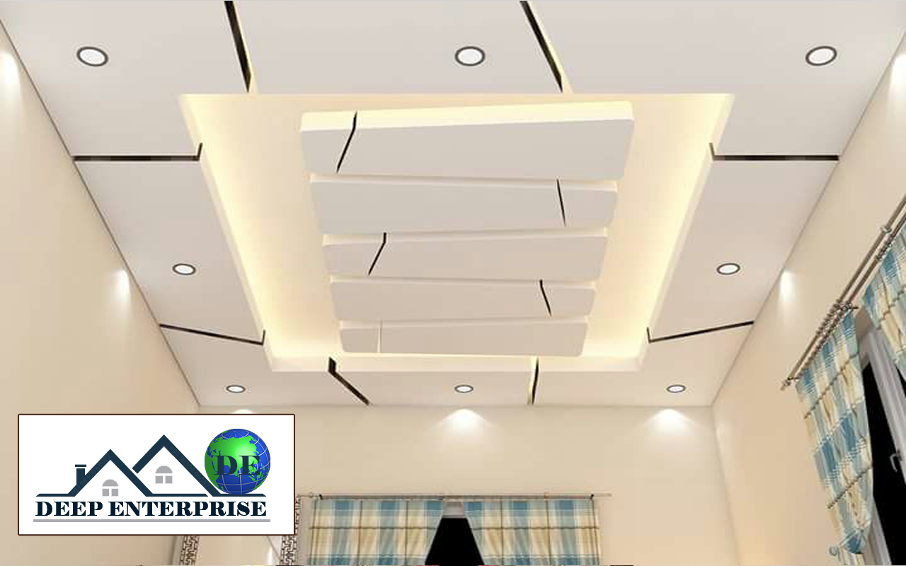 office false ceiling design, Deep Enterprise, office false ceiling contractor in kolkata, office false ceiling decoration