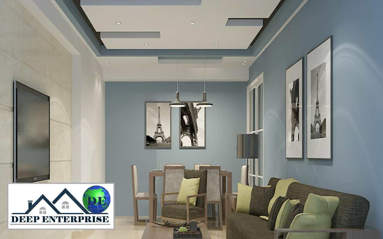 Hilux Calcium Silicate False Ceiling, Deep Enterprise, Hilux Calcium Silicate False Ceiling Design,