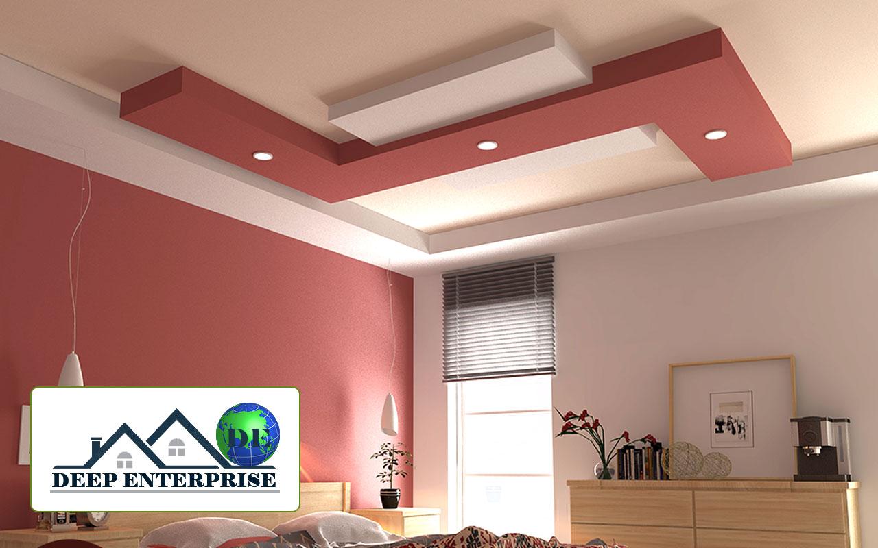 Residential False Ceiling Design Deep Enterprise Contractor In Kolkata