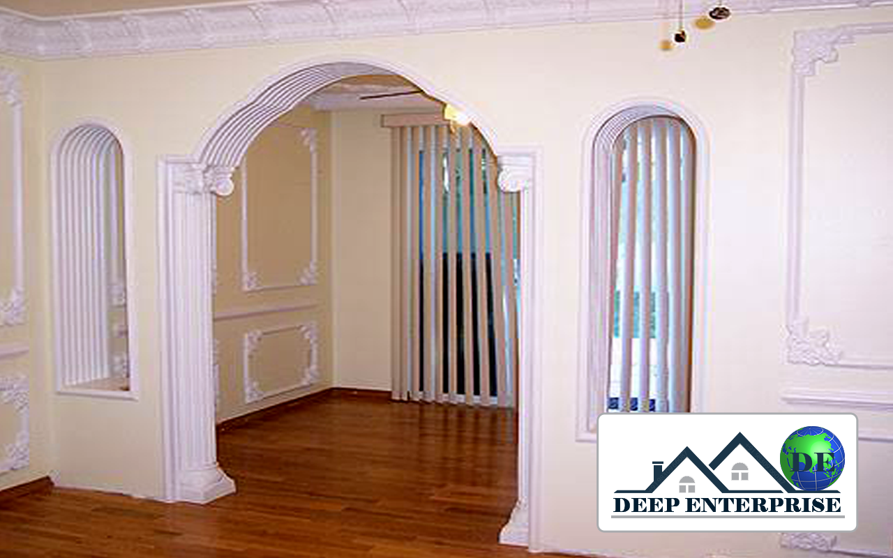 Gypsum Arch Design