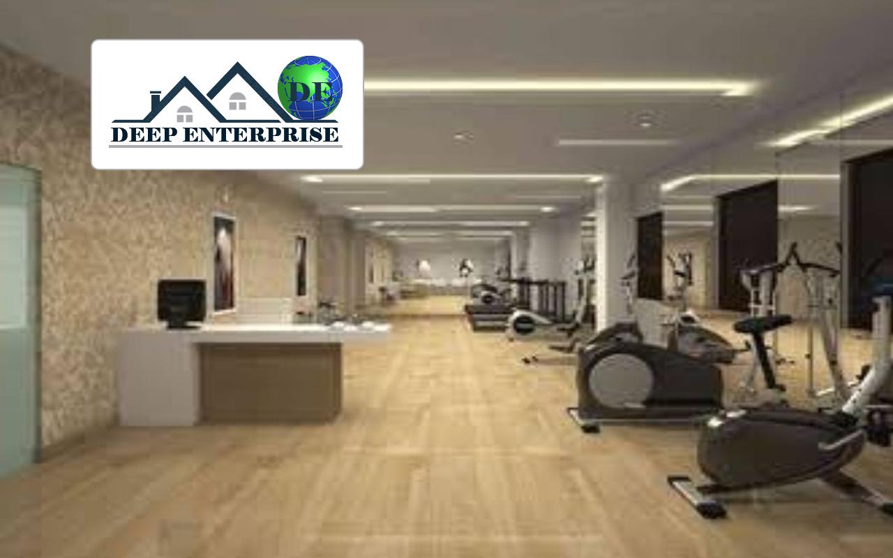 Gym Center False Ceiling