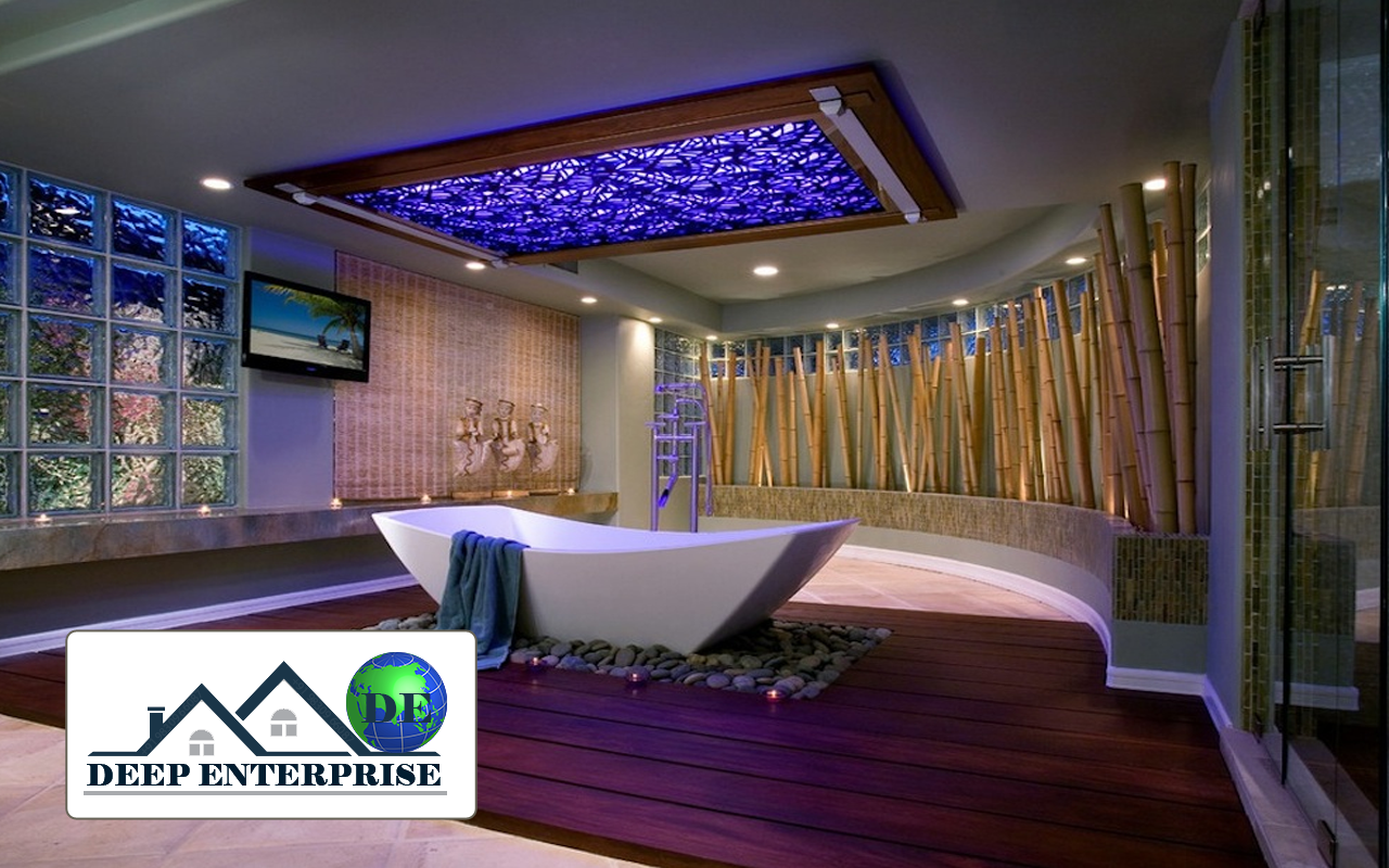 Spa Salon False Ceiling